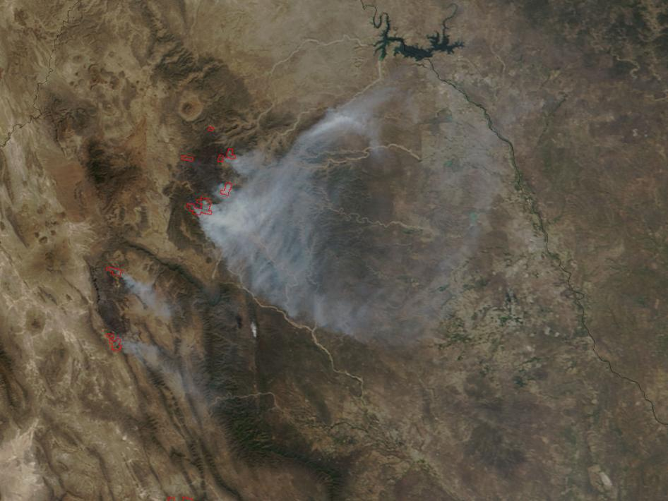 Northern Mexico fires