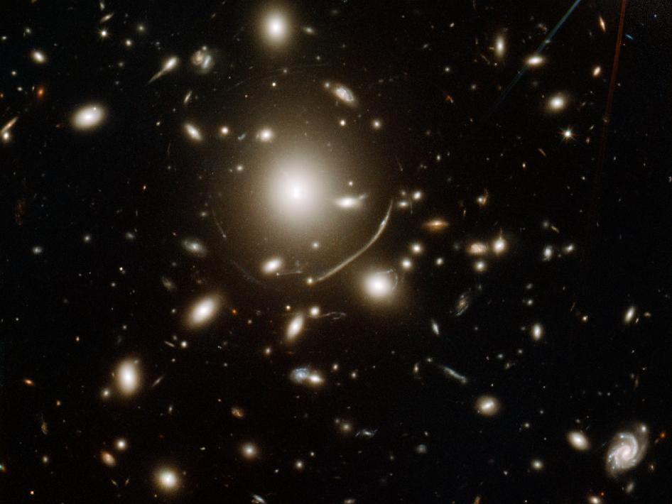 Giant cluster of elliptical galaxies