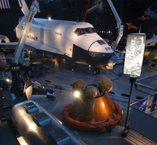 Image of Enterprise at the National Air and Space Museum