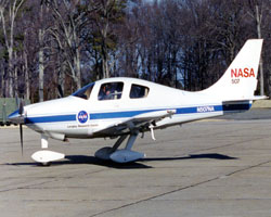 NASA 507 aircraft
