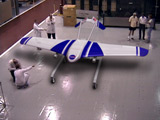 Mars Airplane in Hanger
