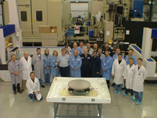 the mirror blank for the Webb Telescope's secondary mirror