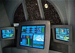 Monitoring Station Inside Starship 2040