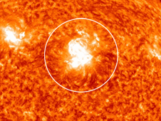NASA's Solar Dynamics Observatory recorded this X1.5-class solar flare on March 9, 2011.