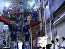 image of NASA OPTIMUS PRIME at NASA center