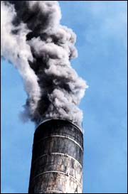 Membranes might help reduce carbon dioxide emissions from factory smoke stacks.