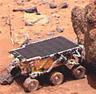 Picture of the Sojourner Rover