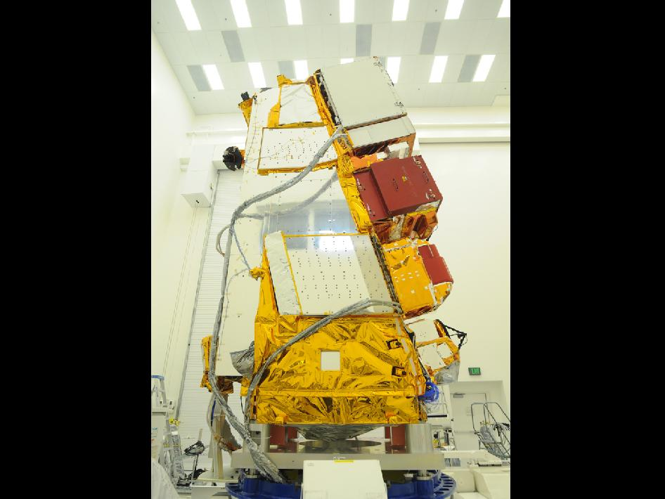 NPP spacecraft in the cleanroom