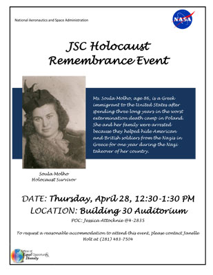 JSC Holocaust Remembrance Event