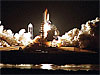 Space shuttle Endeavour launches at Kennedy Space Center