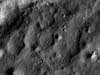 A beautiful wrinkle ridge within Brisbane Z crater in Mare Australe