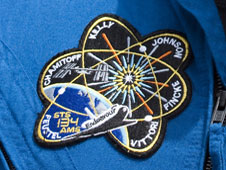 The STS-134 mission patch