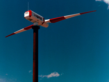 image of NASA's 4-megawatt WTS-4 wind turbine
