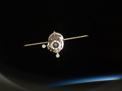 Russian Cargo Craft Departs
