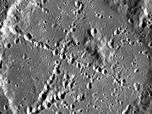 Image from Orbit of Mercury: X Marks the Spot