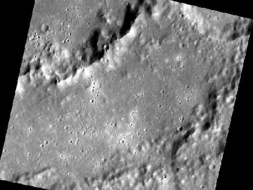 Image from Orbit of Mercury: Dürer Gets Its Close-up