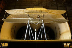 Wright flyer replica