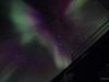 Aurora Australis at the geographic South Pole (90 degrees S. latitude) on May 1, 2011.