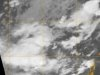 This visible image of System 95B taken by MODIS on May 3 shows System 95B as very disorganized.