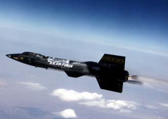 United States Air Force X-15 aircraft. Photo credit: USAF