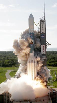 Delta II launches.