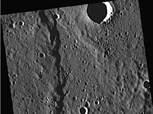 Image from Orbit of Mercury: The Crossing of Endeavour