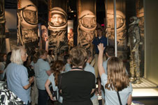 Students tour Kennedy's Astronaut Hall of Fame