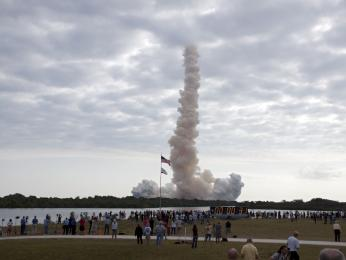 Endeavour launches.