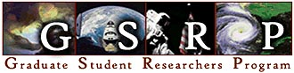 screen capture for the logo for NASA's Graduate Student Research Program