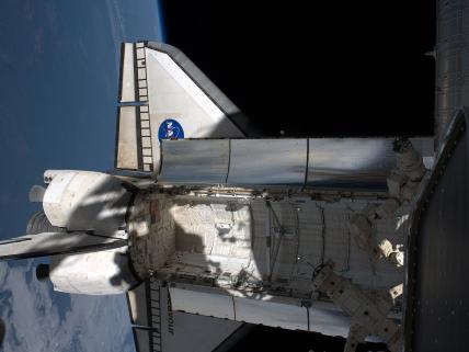 Endeavour at the International Space Station