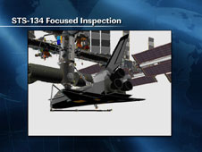 STS-134 Focused Inspection