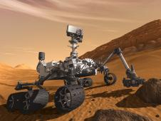 Artist concept features NASA's Mars Science Laboratory Curiosity rover