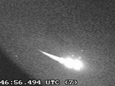 Bright meteor over Macon, Georgia on May 20, 2011