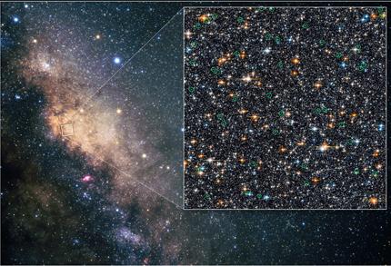 Resultado de imagen de El hubble y la Vía Láctea