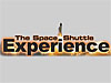 A shuttle launches from the words 'The Shuttle Experience'