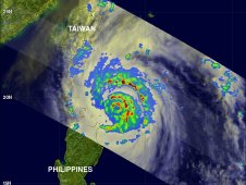 Super Typhoon Songda was seen again by the TRMM satellite on May 27, 2011 at 0710 UTC.