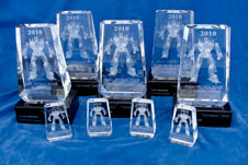 2010 NASA Optimus Prime Spinoff Awards
