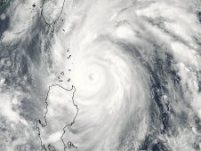 Songda captured by NASA's Aqua satellite when it was a super typhoon off shore from the northern Philippines.