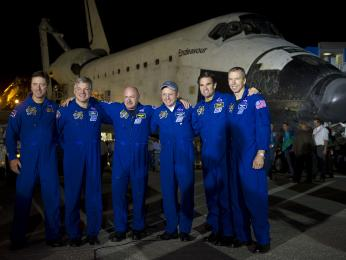 The STS-134 crew