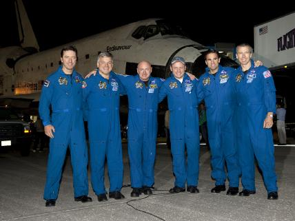 STS-134, Brothers in Arms