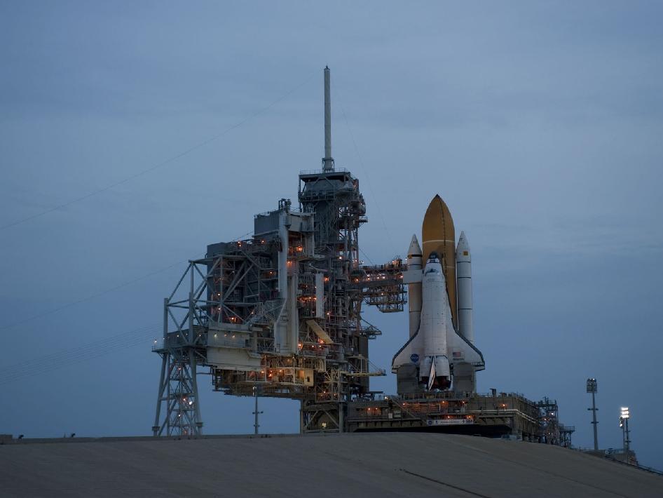 NASA - Sunrise at Launch Pad 39A