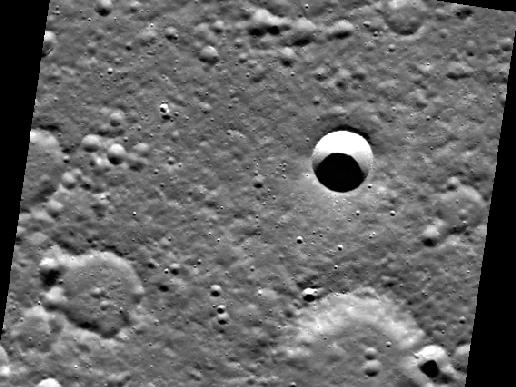 Image from Orbit of Mercury: Image Crater Degradation