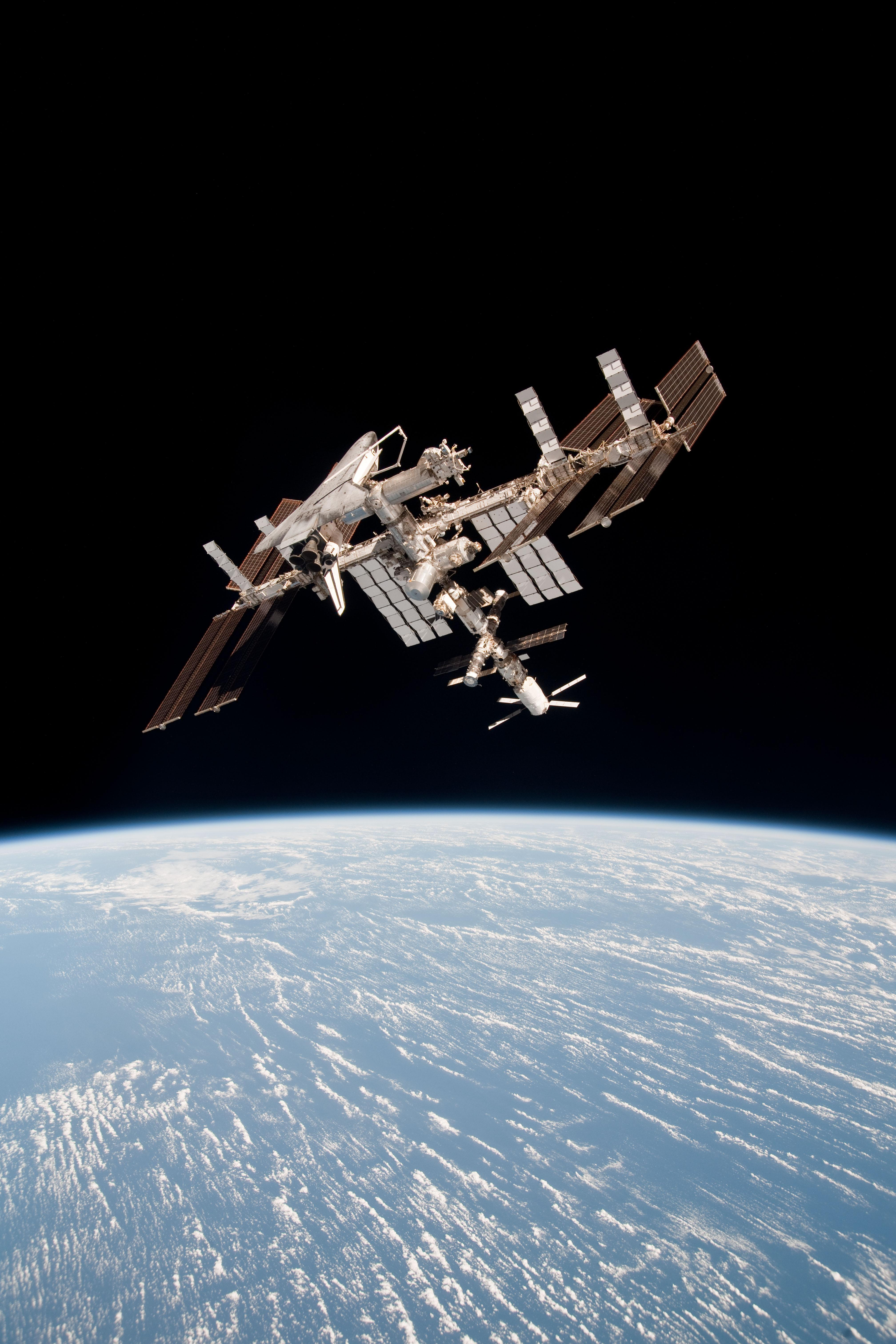 space shuttle iss - photo #11
