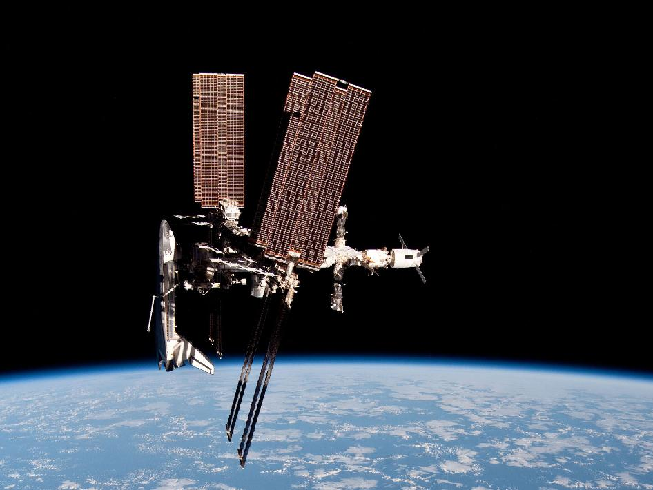 space shuttle iss - photo #10