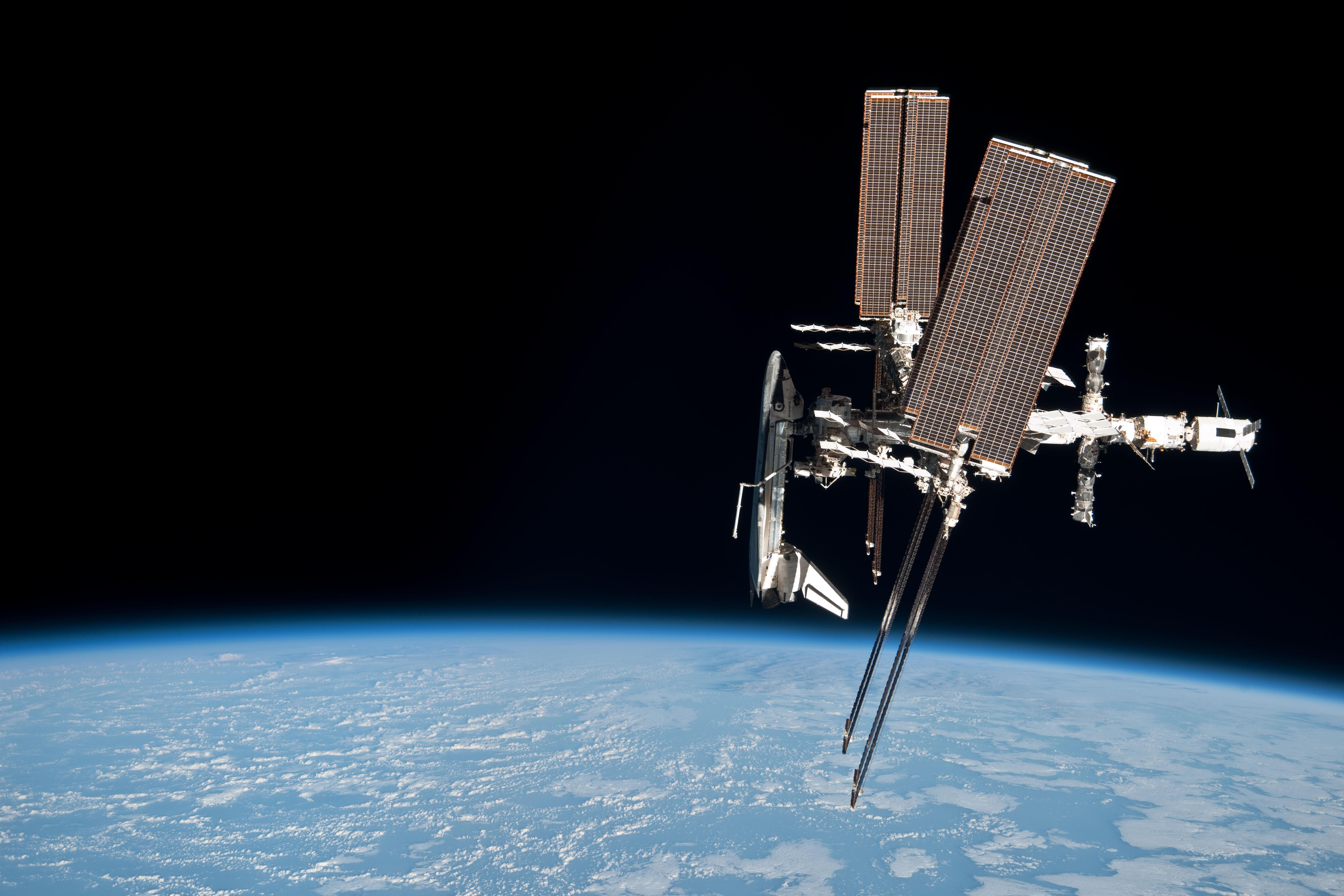 space shuttle iss - photo #26