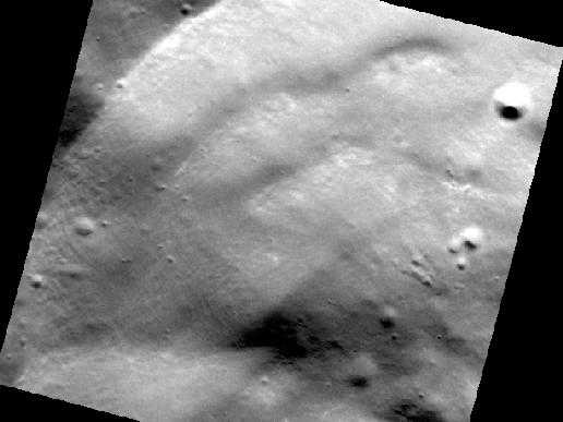 Image from Orbit of Mercury: Wall Slumps