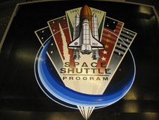 Space Shuttle 30th Commemorative logo