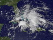 GOES-13 image of System 94L
