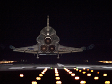 Endeavour lands completing the STS-134 mission