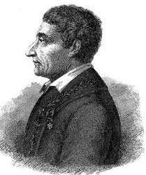 A drawing of Joseph-Louis Lagrange.
